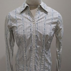 Embroidered Button-Down